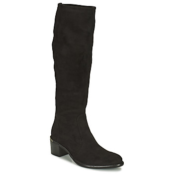 Zapatos Mujer Botas urbanas Adige DIANE V1 CAMOSCIO NOIR Negro