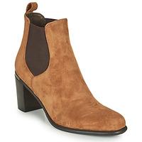 Zapatos Mujer Botas urbanas Adige FANY V11 VELOURS HAVANE Marrón