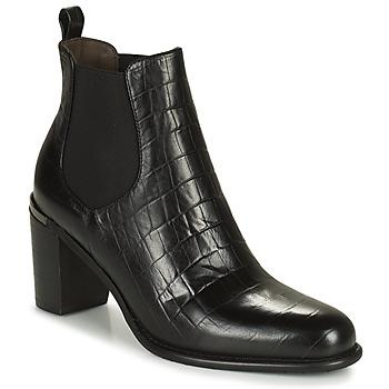 Zapatos Mujer Botas urbanas Adige FANY V5 CAIMAN NOIR Negro