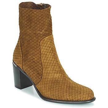 Zapatos Mujer Botas urbanas Adige FARA V2 ECAILLE NOIX Marrón
