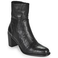 Zapatos Mujer Botas urbanas Adige FARA V4 DRAGON BRONZE Negro