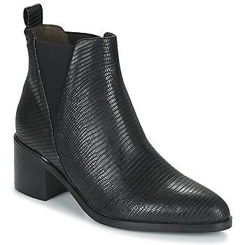 Zapatos Mujer Botas urbanas Adige HABY V1 TEJUS NOIR Negro