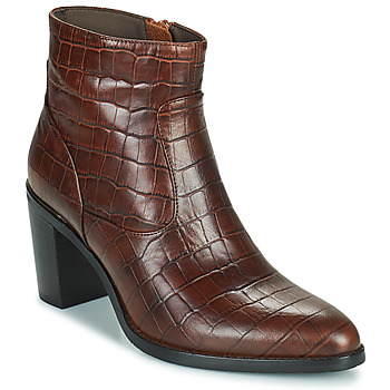 Zapatos Mujer Botas urbanas Adige IZEL V3 CAIMAN COGNAC Marrón