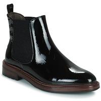 Zapatos Mujer Botas de caña baja Adige NILOU V1 VERNIS NOIR Negro
