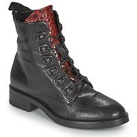 Zapatos Mujer Botas de caña baja Metamorf'Ose KARDIESSE Negro
