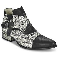 Zapatos Hombre Derbie New Rock M-NW135-C12 Blanco / Negro