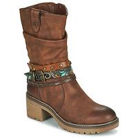 Zapatos Mujer Botines MTNG 50003-C52072 Cognac