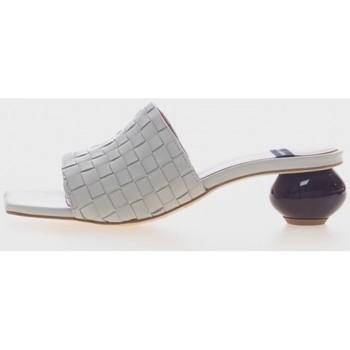 Zapatos Mujer Chanclas Angel Alarcon 21055 Beige