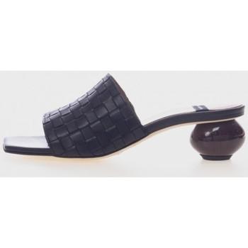 Zapatos Mujer Zuecos (Mules) Angel Alarcon 21055 Negro