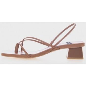 Zapatos Mujer Sandalias Angel Alarcon 21015 Marrón