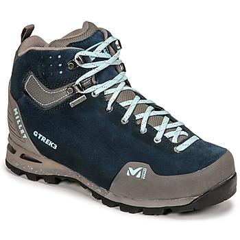 Zapatos Mujer Senderismo Millet G TREK 3 GORETEX Verde / Azul
