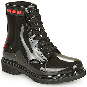 Zapatos Mujer Botas de agua Love Moschino JA24193G1D Negro