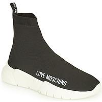 Zapatos Mujer Zapatillas altas Love Moschino JA15343G1D Negro