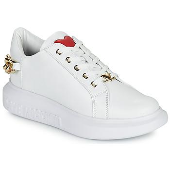 Zapatos Mujer Zapatillas bajas Love Moschino JA15144G1D Blanco