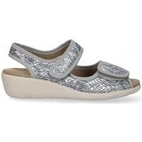 Zapatos Mujer Sandalias Garzon 54983 gris