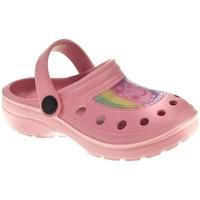 Zapatos Niña Zuecos (Clogs) Cerda PLAYA PISC NIÑA  ROSA Rosa