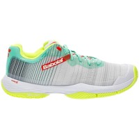 Zapatos Mujer Running / trail Babolat JET RITMA GRIS BLANCO MUJER 31S21753 3023 GRIS BLANCO