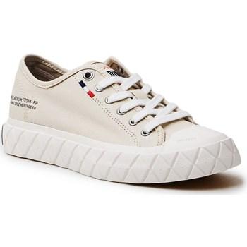 Zapatos Mujer Zapatillas bajas Palladium Manufacture Ace Cvs Beige