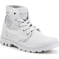 Zapatos Mujer Zapatillas altas Palladium Manufacture Pampa HI Grises