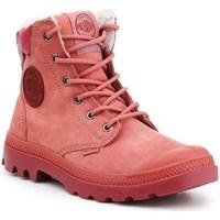 Zapatos Mujer Botas de nieve Palladium Manufacture Pampa Sport Cuff Wps Rojos