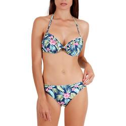 textil Mujer Bikini Admas Juego de bikini push-up 2 piezas Hawaii Azul Marine