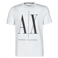 textil Hombre Camisetas manga corta Armani Exchange HULO Blanco