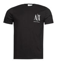 textil Hombre Camisetas manga corta Armani Exchange 8NZTPH Negro