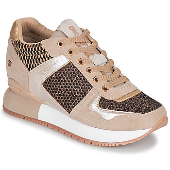 Zapatos Mujer Zapatillas bajas Gioseppo LILESAND Beige / Oro