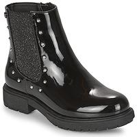 Zapatos Niña Botas de caña baja Gioseppo TELAGH Negro