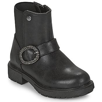 Zapatos Niña Botas de caña baja Gioseppo LONTZEN Negro