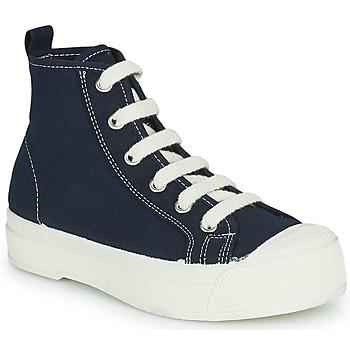 Zapatos Niños Zapatillas altas Bensimon STELLA B79 ENFANT Azul