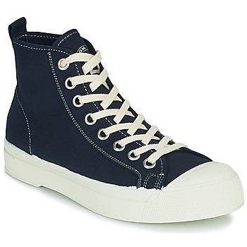 Zapatos Mujer Zapatillas altas Bensimon STELLA B79 Azul
