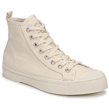 Zapatos Mujer Zapatillas altas Bensimon STELLA B79 Beige