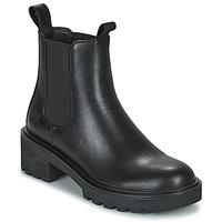 Zapatos Mujer Botas de caña baja Lumberjack RAMONE BEATLES Negro