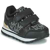 Zapatos Niña Zapatillas bajas MICHAEL Michael Kors BILLIE JOGGER H&L Negro / Oro
