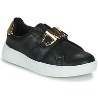 Zapatos Niña Zapatillas bajas MICHAEL Michael Kors JEM MK Negro / Oro