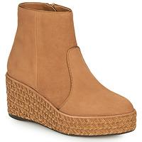 Zapatos Mujer Botas de caña baja Castaner NICOLA Cognac