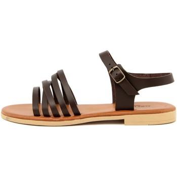 Zapatos Mujer Sandalias Alice Carlotti  Marrone