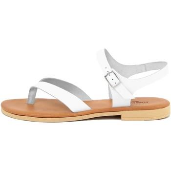 Zapatos Mujer Sandalias Alice Carlotti  Bianco