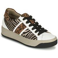 Zapatos Mujer Zapatillas bajas IgI&CO DONNA AVA Blanco / Marrón