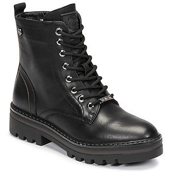 Zapatos Mujer Botas de caña baja Refresh 72544 Negro