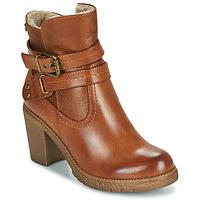 Zapatos Mujer Botines Refresh 78969 Camel