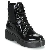 Zapatos Mujer Botas de caña baja Refresh 76084 Negro