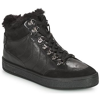 Zapatos Mujer Botas de caña baja Geox LEELU Negro