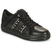 Zapatos Mujer Zapatillas bajas Geox LEELU Negro