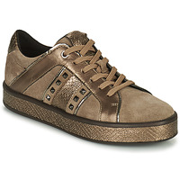 Zapatos Mujer Zapatillas bajas Geox LEELU' Marrón / Oro