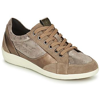 Zapatos Mujer Zapatillas bajas Geox MYRIA Oro