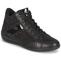 Zapatos Mujer Zapatillas altas Geox MYRIA Negro