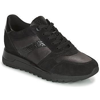 Zapatos Mujer Zapatillas bajas Geox TABELYA Negro