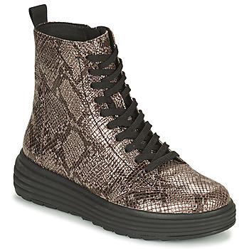 Zapatos Mujer Botas de caña baja Geox PHAOLAE Marrón